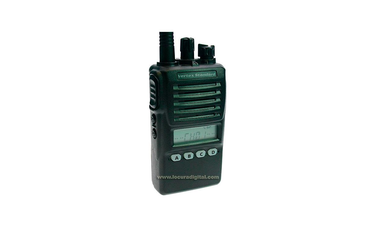 VX-354 UHF 400-470 Walkie profesional con batería FNBV130LI y VAC UNIC